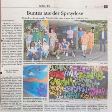 Pfarrkirchen-Bushaltestelle-Graffiti
